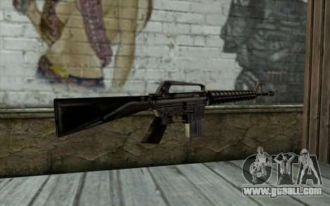 M16 from Beta Version for GTA San Andreas second screenshot