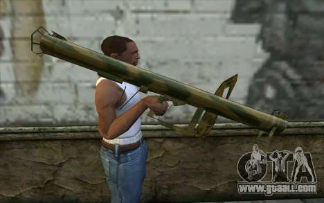 Panzerschreсk from Day of Defeat for GTA San Andreas third screenshot