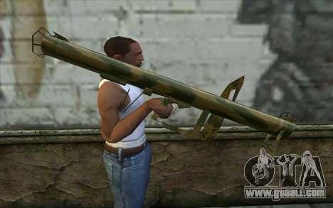 Panzerschreсk from Day of Defeat for GTA San Andreas third screenshot