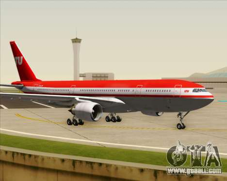 Airbus A330-200 LTU International for GTA San Andreas inner view