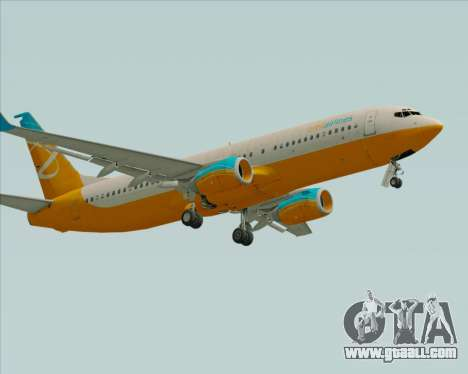 Boeing 737-800 Orbit Airlines for GTA San Andreas left view