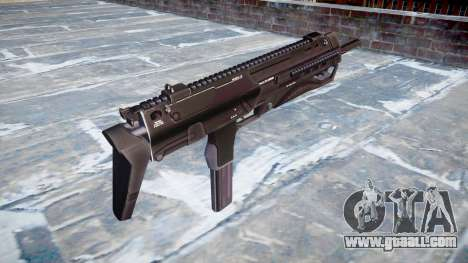 Submachine gun HK MP7 for GTA 4 second screenshot