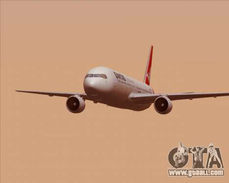 Boeing 767-300ER Qantas (New Colors) for GTA San Andreas interior