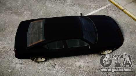 GTA V Bravado FIB Buffalo [ELS] for GTA 4 right view