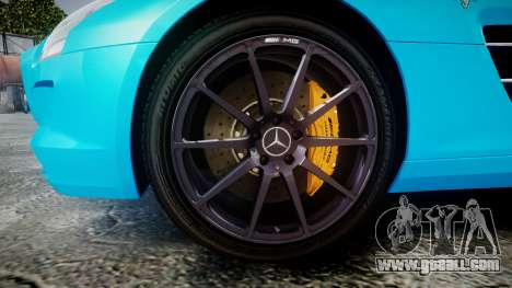 Mercedes-Benz SLS AMG v3.0 [EPM] Kotori Minami for GTA 4 back view
