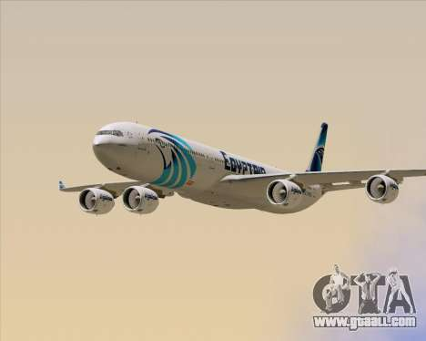 Airbus A340-600 EgyptAir for GTA San Andreas