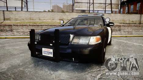 Ford Crown Victoria CHP CVPI Liberty [ELS] for GTA 4