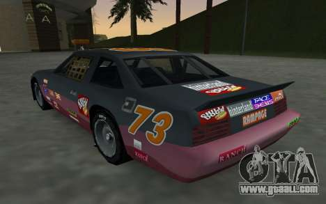 New decals and non Hotring for GTA San Andreas back view