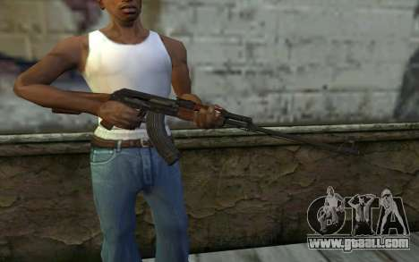 RPK 74 from Battlefield 4 for GTA San Andreas third screenshot