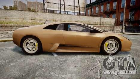 Lamborghini Murcielago 2005 for GTA 4 left view