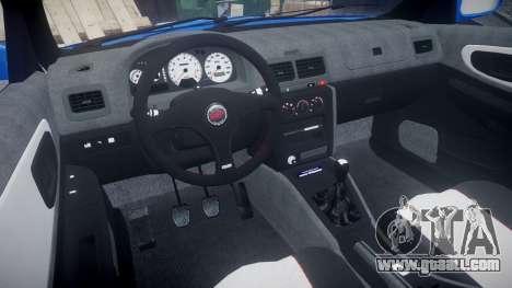 Subaru Impreza WRC 1998 World Rally for GTA 4 back view