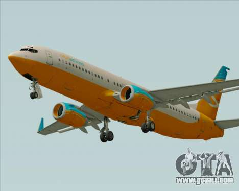 Boeing 737-800 Orbit Airlines for GTA San Andreas engine