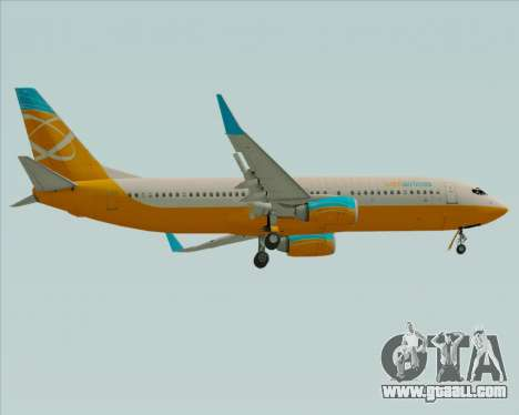 Boeing 737-800 Orbit Airlines for GTA San Andreas right view