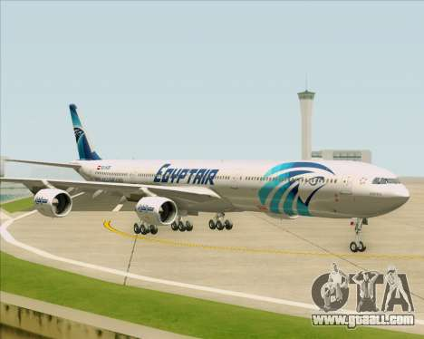 Airbus A340-600 EgyptAir for GTA San Andreas inner view