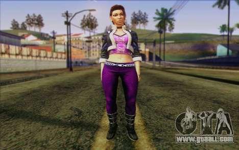 Shaundi from Saints Row The Third for GTA San Andreas