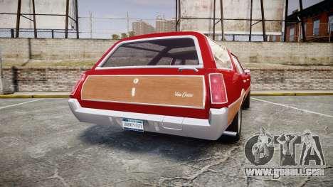 Oldsmobile Vista Cruiser 1972 Rims1 Tree2 for GTA 4 back left view
