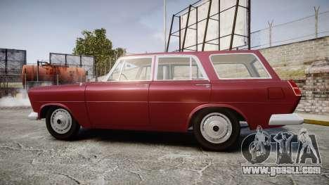 FSO Warszawa Ghia Kombi 1959 for GTA 4 left view