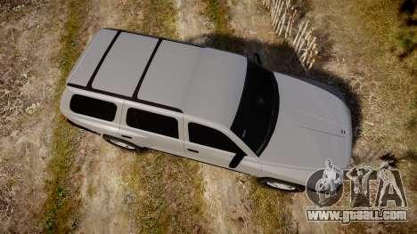 Dodge Durango 2000 Undercover [ELS] for GTA 4 right view