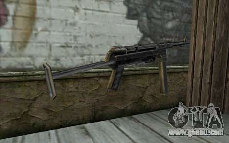MP-40 from Day of Defeat for GTA San Andreas second screenshot