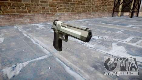 Пистолет IMI Desert Eagle Mk XIX Two-tone for GTA 4