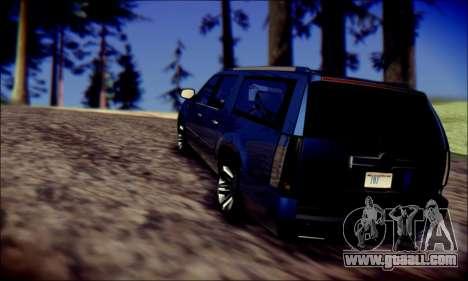 Cadillac Escalade Ninja for GTA San Andreas side view