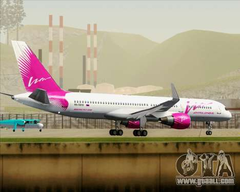 Boeing 757-230 VIM Airlines (VIM) for GTA San Andreas bottom view