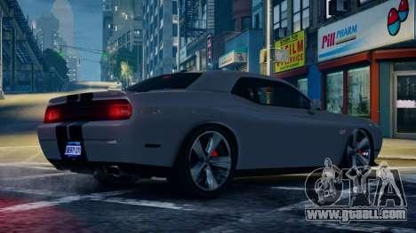 Dodge Challenger SRT8 for GTA 4 left view