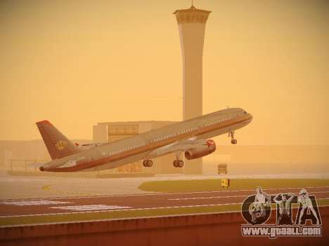 Airbus A321-232 Royal Jordanian Airlines for GTA San Andreas interior