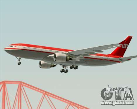 Airbus A330-200 LTU International for GTA San Andreas right view