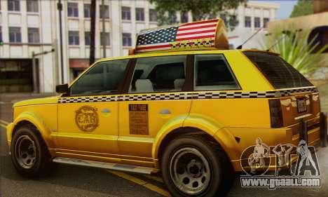 VAPID Huntley Taxi (Saints Row 4 Style) for GTA San Andreas