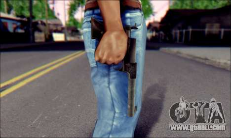 Silenced Pistol from Death to Spies 3 for GTA San Andreas third screenshot