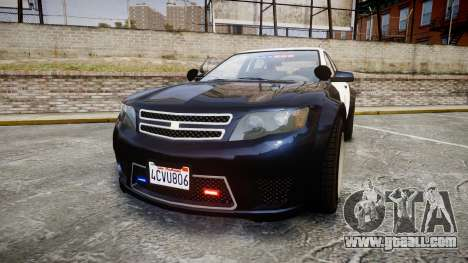 GTA V Cheval Fugitive LS Police [ELS] Slicktop for GTA 4