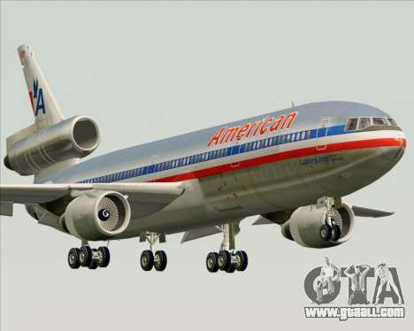 McDonnell Douglas DC-10-30 American Airlines for GTA San Andreas