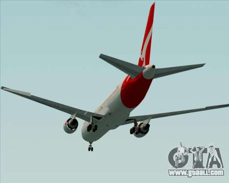 Boeing 767-300ER Qantas (New Colors) for GTA San Andreas side view