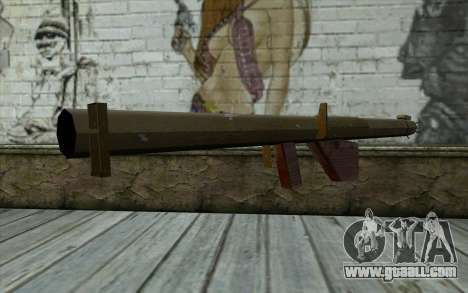 M1 Bazooka from Day of Defeat for GTA San Andreas second screenshot
