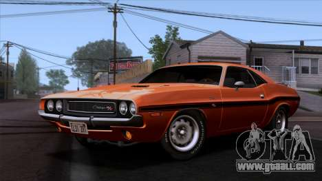 Dodge Challenger 426 Hemi (JS23) 1970 (ImVehFt) for GTA San Andreas
