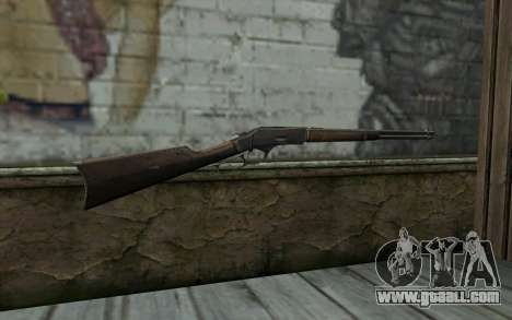 Winchester 1873 v1 for GTA San Andreas second screenshot