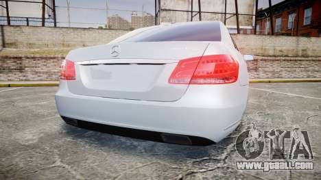 Mercedes-Benz E63 W213 AMG 2014 Vossen for GTA 4 back left view