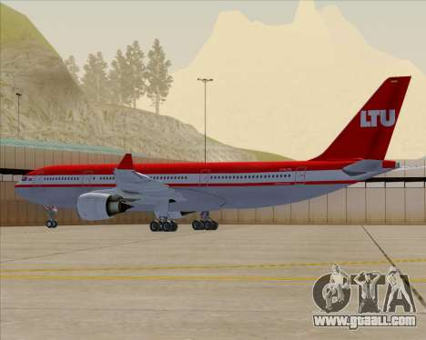 Airbus A330-200 LTU International for GTA San Andreas engine