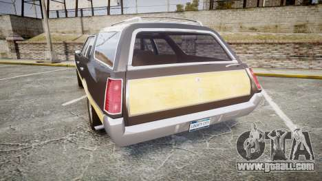 Oldsmobile Vista Cruiser 1972 Rims1 Tree1 for GTA 4 back left view