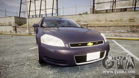 Chevrolet Impala 2010 Undercover [ELS] for GTA 4