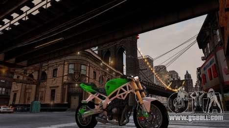 Kawasaki Ninja 636 Stunt for GTA 4 back left view