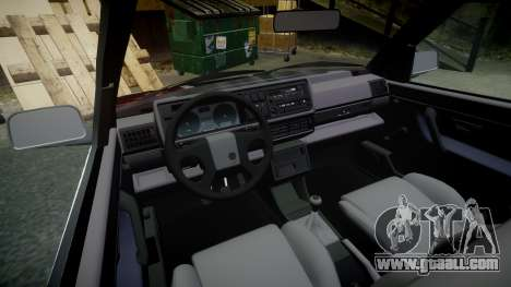 Volkswagen Golf GTI Mk2 Budget Street Cred for GTA 4 inner view