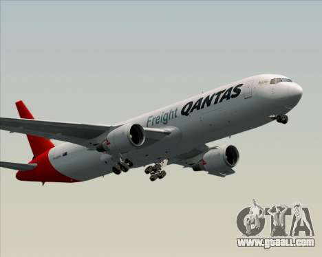 Boeing 767-300F Qantas Freight for GTA San Andreas right view
