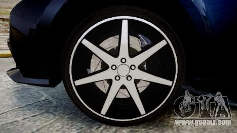 Lexus IS 350 F-Sport 2014 Rims2 for GTA 4 back view