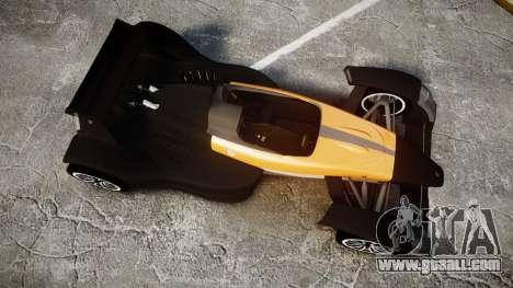 Caparo T1 for GTA 4 right view