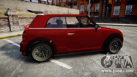 GTA V Weeny Issi Tuned for GTA 4 left view