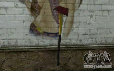 Fire axe (DayZ Standalone) v1 for GTA San Andreas second screenshot