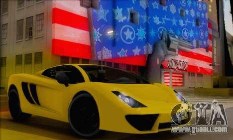 Pegassi Vacca (HQLM) for GTA San Andreas