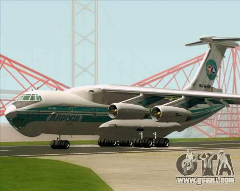 IL-76TD ALROSA for GTA San Andreas upper view